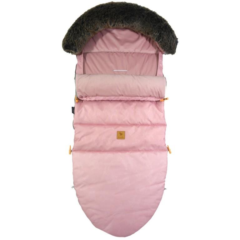 Śpiworek Zimowy z futrem Rose Lanila L/XL (1-3 lat)
