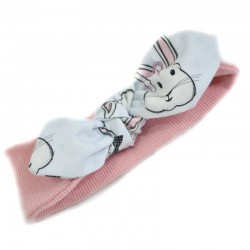 Opaska Dusty Rose Face the Bunny