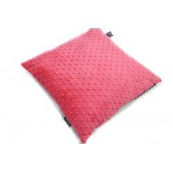 Poduszka Minky - Bawełna Watermelon Blossom 40 x 40cm z zamkiem