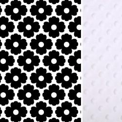 Ochraniacz do łóżeczka 60x120cm - White Blossom