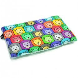 Poduszka Przedszkolaka Mint Bubble Lions