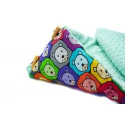 Śpiworek Mint Bubble Lions (1-3 lat)