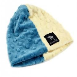 Czapka Lanila Beanie French Blue/Vanilla