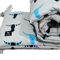 Ochraniacz do łóżeczka 60x120cm - Head and Horn