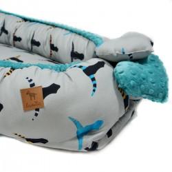 Kokon Niemowlęcy Pacific Blue Head and Horn