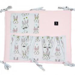 Organizer/Przybornik do łóżeczka Pink Face the Bunny
