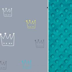 Poduszka Średniaka Pacific Blue Crown 25 x 40