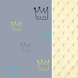 Poduszka Średniaka Grey Crown 25 x 40