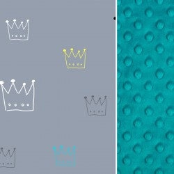 Poduszka Motylek - Pacific Blue Crown