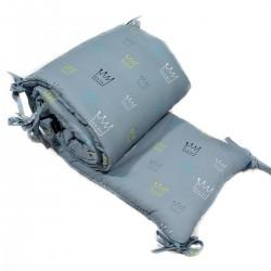 Ochraniacz do łóżeczka 70x140cm - Crown