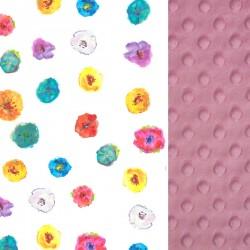 Poduszka Średniaka Dusty Rose Flowerland 25 x 40