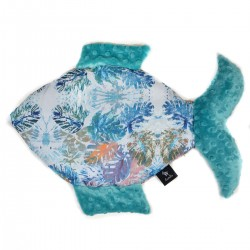 Poduszka Fisherka Pacific Blue Art Fusion
