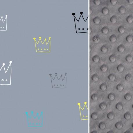 Śpiworek Grey Crown L/XL (1-3 lat)