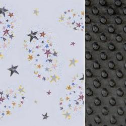 KOŃCÓWKA KOLEKCJI - Kocyk Light Ash Milky Way 75 x 100cm