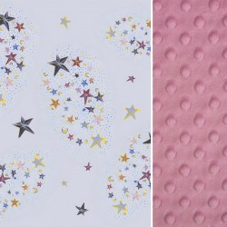 Śpiworek Dusty Rose Milky Way L/XL (1-3 lat)