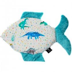 Poduszka Fisherka Pacific Blue Dino
