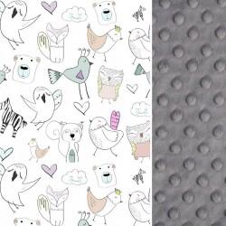 Poduszka Średniaka Grey Tender Friends 25 x 40