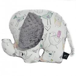 Poduszka - przytulanka Lucky Guy Grey Tender Friends