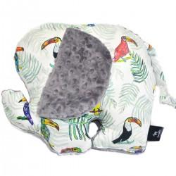 Poduszka - przytulanka Lucky Guy Grey Tukan