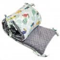 Ochraniacz do łóżeczka 60x120cm - Grey Tukan