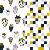 Pościel bawełniana Sweet and Sour/Cubes 90 x 120cm