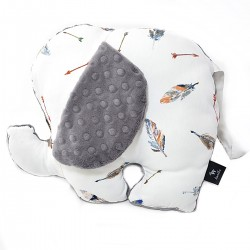 Lucky Guy Pillow Grey Pure