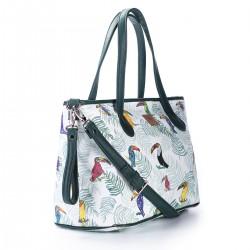 Skórzana torba do wózka Tukan