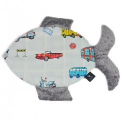 Poduszka Fisherka Grey Newborn to Drive