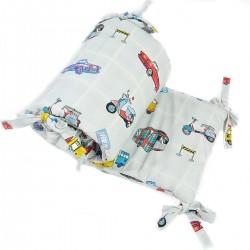 Ochraniacz do łóżeczka 60x120cm - Newborn to Drive