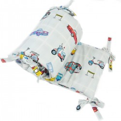 Ochraniacz do łóżeczka 70x140cm - Newborn to Drive