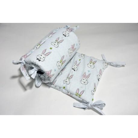 KOŃCÓWKA KOLEKCJI - Ochraniacz do łóżeczka 60x120cm - Dreamcatchers