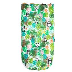 Śpiworek Mint Jungle Bears S/M (0-1 roku)
