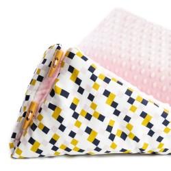 Śpiworek Pink Cube S/M (0-1 roku)