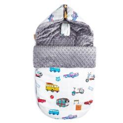 Śpiworek Grey Newborn to Drive S/M (0-1 roku)