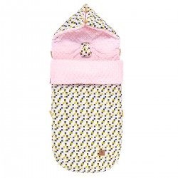 Śpiworek Pink Cubes L/XL (1-3 lat)