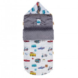 Śpiworek Grey Newborn to Drive L/XL (1-3 lat)
