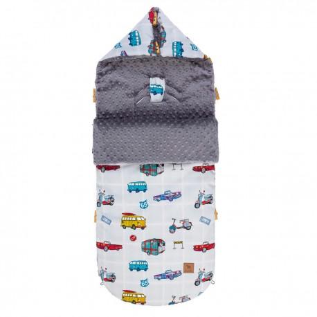 Śpiworek Grey Newborn to Drive L/XL (1-3 lat)