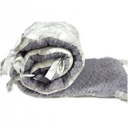 Ochraniacz do łóżeczka 70x140cm - Grey Goodnight