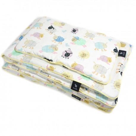 Bawełniana Pościel z Wypełnieniem Sunny Cotton Sheep 100x135cm