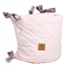 Ochraniacz do łóżeczka - Pink Velvet 60x120