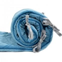 Ochraniacz do łóżeczka - Blue Velvet 60x120