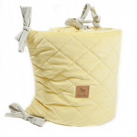 Ochraniacz do łóżeczka - Banana Velvet 60x120