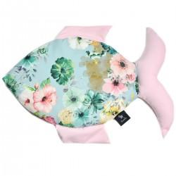 Poduszka Fisherka - Velvet Pink Camilla Gardens