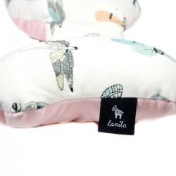 Poduszka Motylek - Velvet Pink Wings