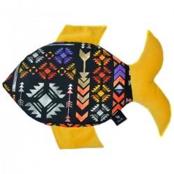 Fish Pillow Curry Boho - Velvet