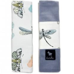 Ochraniacze na pasy Grey Wings - Velvet