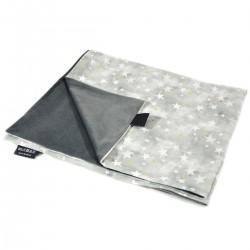 Kocyk Letni Dark Grey Goodnight 75x100cm - Velvet
