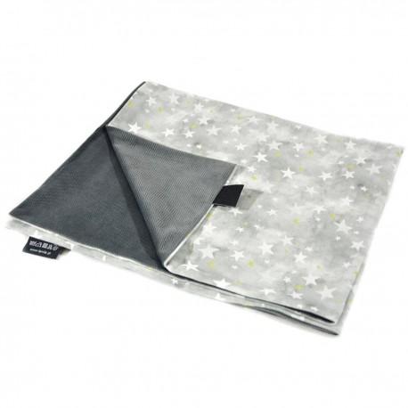 Kocyk Letni Dark Grey Goodnight 60x70cm - Velvet