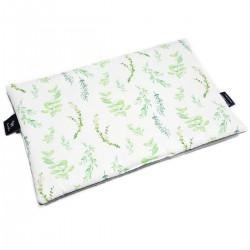 Preschooler Bed Pillow 40x60 Dark Grey Springflakes - Velvet