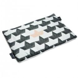 Preschooler Bed Pillow 40x60 White Paperboats - Velvet